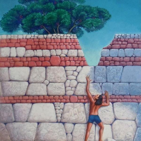 peinture Au Pied Du Mur
