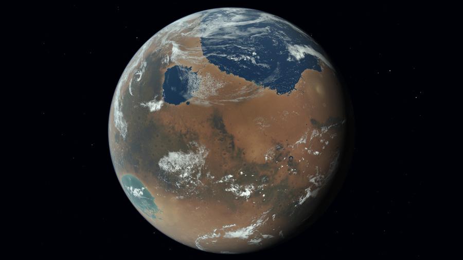 terraformed mars 2200