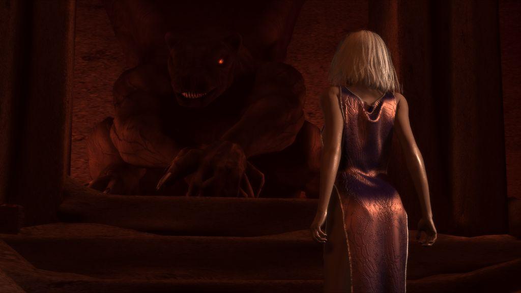 illustration 3D The Red Eye